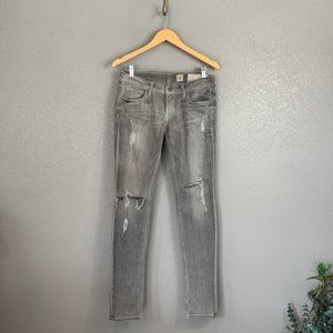 All Saints Woodvale Pipe skinny jeans 27